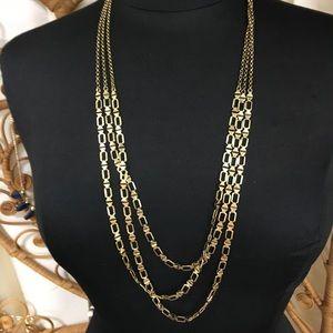 Lucky brand multi strand necklace
